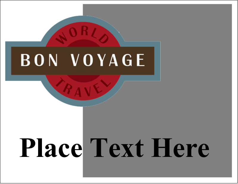"""5½"""" x 4¼"""" Note Card - Vintage Travel"""