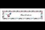 Feuillu Affichette - gabarit prédéfini. <br/>Utilisez notre logiciel Avery Design & Print Online pour personnaliser facilement la conception.