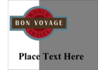 Bring a worldly feel to custom projects with pre-designed Vintage Travel templates.