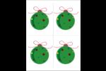 Boule étoilée Cartes Et Articles D'Artisanat Imprimables - gabarit prédéfini. <br/>Utilisez notre logiciel Avery Design & Print Online pour personnaliser facilement la conception.
