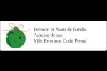 Boule étoilée Étiquettes D'Adresse - gabarit prédéfini. <br/>Utilisez notre logiciel Avery Design & Print Online pour personnaliser facilement la conception.