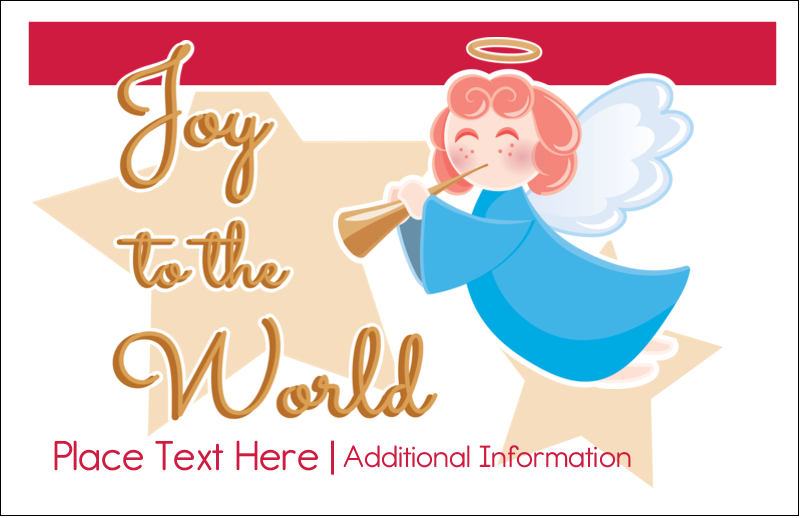 "5½"" x 8½"" Greeting Card - Religious Angel"