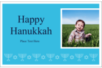 Add elegance and Jewish symbolism to projects with pre-designed Hanukkah Menorah templates.