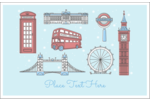 Give your project a postcard-like feeling with pre-designed London Holiday templates.