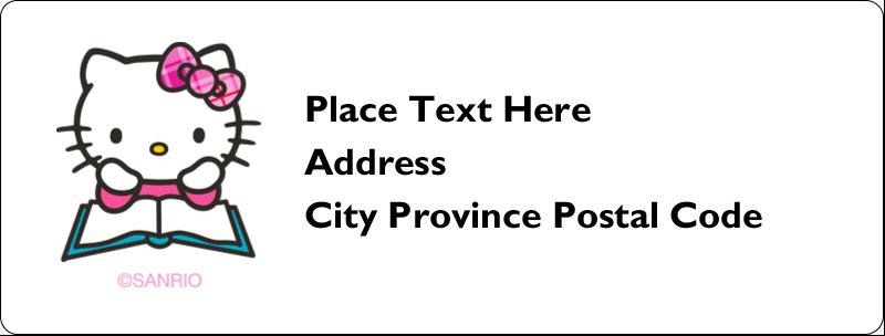 """1"""" x 2⅝"""" Address Label - Time to Study"""