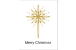 Add elegance to projects with pre-designed Golden Star of Bethlehem templates.