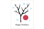Add decorative holiday cheer to custom projects with pre-designed Winter Tree templates.