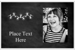 Add simple aesthetics to custom projects with pre-designed Chalkboard Lights templates.