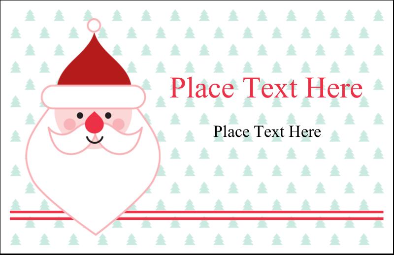 "5½"" x 8½"" Greeting Card - Santa Claus"
