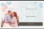 Roses bleues officielles Cartes de souhaits pliées en deux - gabarit prédéfini. <br/>Utilisez notre logiciel Avery Design & Print Online pour personnaliser facilement la conception.