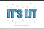 Hanoukka, la fête des Lumières Cartes de souhaits pliées en deux - gabarit prédéfini. <br/>Utilisez notre logiciel Avery Design & Print Online pour personnaliser facilement la conception.