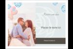 Roses bleues officielles Cartes de notes - gabarit prédéfini. <br/>Utilisez notre logiciel Avery Design & Print Online pour personnaliser facilement la conception.