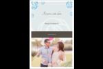 Roses bleues officielles Cartes Et Articles D'Artisanat Imprimables - gabarit prédéfini. <br/>Utilisez notre logiciel Avery Design & Print Online pour personnaliser facilement la conception.