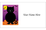 Purr-Fect your custom project with printable, pre-designed Black Cat Halloween templates.