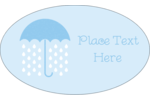 Shower your custom project with joy using pre-designed Baby Umbrella templates.
