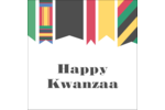 Add vibrant, festive colour to custom projects with pre-designed Kwanzaa Banner templates.