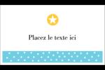 Étoiles avec tons bleus et jaunes Cartes d'affaires - gabarit prédéfini. <br/>Utilisez notre logiciel Avery Design & Print Online pour personnaliser facilement la conception.