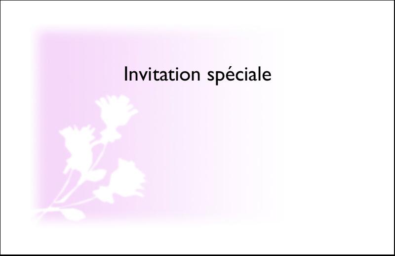 """5½"""" x 8½"""" Cartes de souhaits pliées en deux - Trois fleurs"""