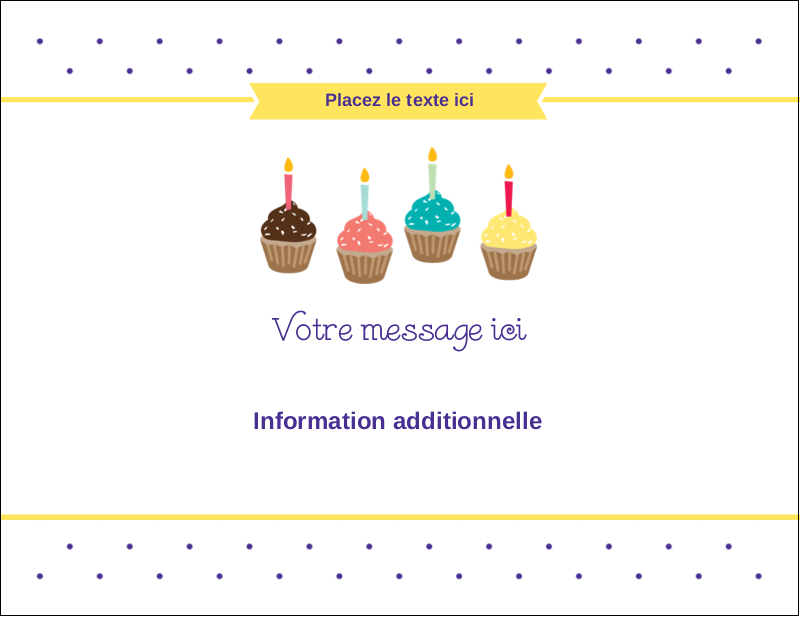 "4¼"" x 5½"" Cartes de notes - Fournitures d'anniversaire"