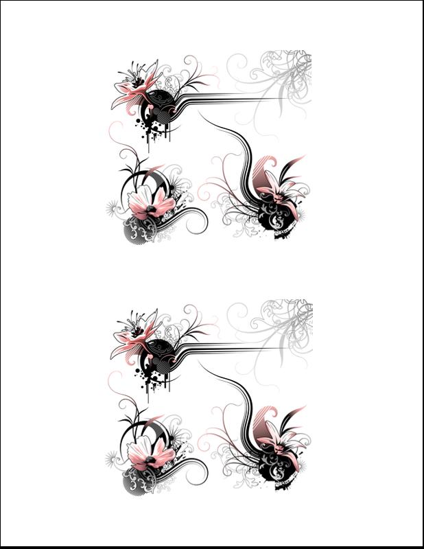 """8½"""" x 11"""" Cartes Et Articles D'Artisanat Imprimables - TBD"""