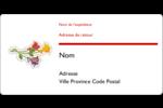 Trois fleurs Étiquettes d'expéditions - gabarit prédéfini. <br/>Utilisez notre logiciel Avery Design & Print Online pour personnaliser facilement la conception.