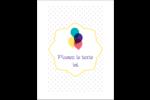 Fournitures d'anniversaire Reliures - gabarit prédéfini. <br/>Utilisez notre logiciel Avery Design & Print Online pour personnaliser facilement la conception.