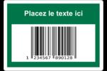 Code-barres de série Étiquettes D'Identification - gabarit prédéfini. <br/>Utilisez notre logiciel Avery Design & Print Online pour personnaliser facilement la conception.