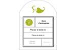 Modernité Étiquettes arrondies - gabarit prédéfini. <br/>Utilisez notre logiciel Avery Design & Print Online pour personnaliser facilement la conception.