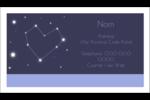 Étoiles d'anniversaire Carte d'affaire - gabarit prédéfini. <br/>Utilisez notre logiciel Avery Design & Print Online pour personnaliser facilement la conception.