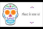 Le jour du Crâne Carte d'affaire - gabarit prédéfini. <br/>Utilisez notre logiciel Avery Design & Print Online pour personnaliser facilement la conception.