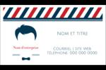 Salon de barbier Carte d'affaire - gabarit prédéfini. <br/>Utilisez notre logiciel Avery Design & Print Online pour personnaliser facilement la conception.