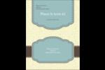 Vert d'antan Carte Postale - gabarit prédéfini. <br/>Utilisez notre logiciel Avery Design & Print Online pour personnaliser facilement la conception.