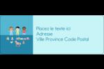 Éducation et préscolaire Étiquettes D'Adresse - gabarit prédéfini. <br/>Utilisez notre logiciel Avery Design & Print Online pour personnaliser facilement la conception.