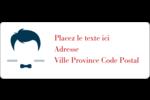 Salon de barbier Étiquettes D'Adresse - gabarit prédéfini. <br/>Utilisez notre logiciel Avery Design & Print Online pour personnaliser facilement la conception.