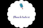Popsicle familier Étiquettes festonnées - gabarit prédéfini. <br/>Utilisez notre logiciel Avery Design & Print Online pour personnaliser facilement la conception.
