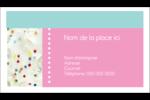 Planificateur de fêtes Cartes d'affaires - gabarit prédéfini. <br/>Utilisez notre logiciel Avery Design & Print Online pour personnaliser facilement la conception.