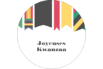 Bannière de Kwanzaa Étiquettes Voyantes - gabarit prédéfini. <br/>Utilisez notre logiciel Avery Design & Print Online pour personnaliser facilement la conception.