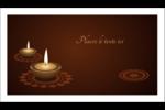 Lumières Divali Carte d'affaire - gabarit prédéfini. <br/>Utilisez notre logiciel Avery Design & Print Online pour personnaliser facilement la conception.
