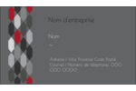 Hexagone rouge Carte d'affaire - gabarit prédéfini. <br/>Utilisez notre logiciel Avery Design & Print Online pour personnaliser facilement la conception.