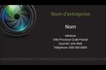 Objectif Carte d'affaire - gabarit prédéfini. <br/>Utilisez notre logiciel Avery Design & Print Online pour personnaliser facilement la conception.