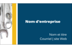 Outils de l'entrepreneur Carte d'affaire - gabarit prédéfini. <br/>Utilisez notre logiciel Avery Design & Print Online pour personnaliser facilement la conception.