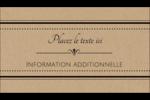 Grand chic Carte d'affaire - gabarit prédéfini. <br/>Utilisez notre logiciel Avery Design & Print Online pour personnaliser facilement la conception.