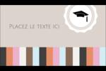 Mortier de diplômé Carte d'affaire - gabarit prédéfini. <br/>Utilisez notre logiciel Avery Design & Print Online pour personnaliser facilement la conception.
