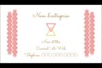 Triangles modernes pour typographie Carte d'affaire - gabarit prédéfini. <br/>Utilisez notre logiciel Avery Design & Print Online pour personnaliser facilement la conception.