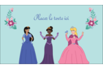 Princesses Carte d'affaire - gabarit prédéfini. <br/>Utilisez notre logiciel Avery Design & Print Online pour personnaliser facilement la conception.