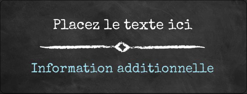 """½"""" x 1¾"""" Étiquettes D'Adresse - Diplôme et craie"""