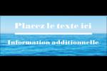 Ciel-océan Étiquettes D'Adresse - gabarit prédéfini. <br/>Utilisez notre logiciel Avery Design & Print Online pour personnaliser facilement la conception.