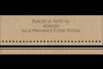 Grand chic Étiquettes D'Adresse - gabarit prédéfini. <br/>Utilisez notre logiciel Avery Design & Print Online pour personnaliser facilement la conception.