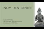Bouddha Carte d'affaire - gabarit prédéfini. <br/>Utilisez notre logiciel Avery Design & Print Online pour personnaliser facilement la conception.