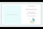 Poussette pour bébé avec tons bleus  Cartes d'affaires - gabarit prédéfini. <br/>Utilisez notre logiciel Avery Design & Print Online pour personnaliser facilement la conception.